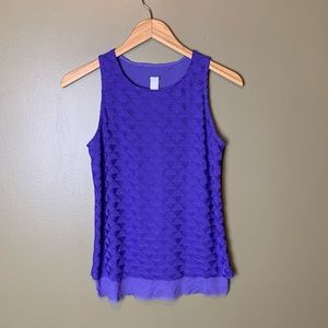 Oieselle Purple Athletic Tank